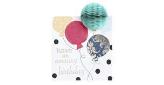 Gift Card- Happy Birthday Balloons
