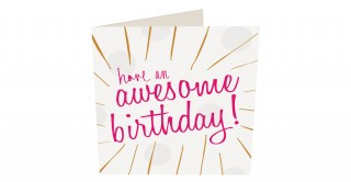 Gift Card- Have An Awesome Birthday