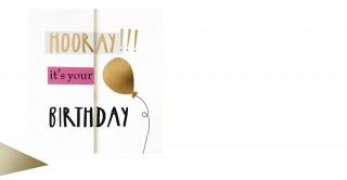 Gift Card- Hooray Its Your Birthday