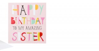 Gift Card- Amazing Sister