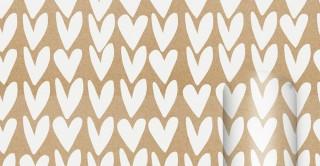Roll Wrap - Hearts