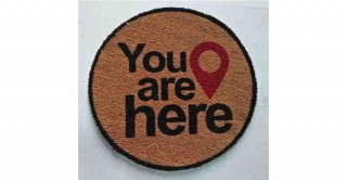 You are here 55cm Round Doormat