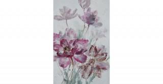 Allium 80X120 Hand-Painted Canvas