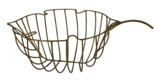 Garnet Leaf Basket, 39x25x11.5cm