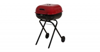 Americana Walk A Bout Charcoal Grill Red