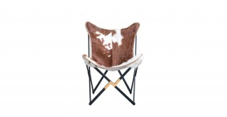 Butterfly Cow Hide Chair