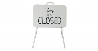 Agni Open/Closed Standing Sign