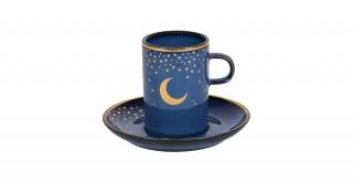 Moon 6 PCs Espresso Set - Blue