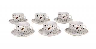 Miley 6Pcs Multi Espresso Set
