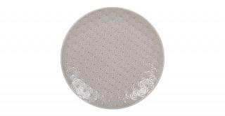 Del Rio Dinner Plate 26Cm Light Grey