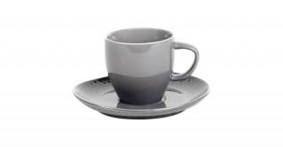 Eden Coffee Cup 14Cm Grey
