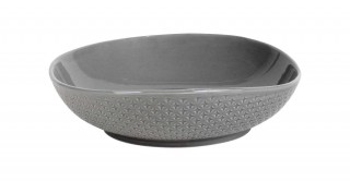 Eden Salad Bowl 25Cm Grey