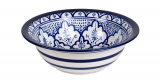 Fall Salad Bowl 28Cm Blue
