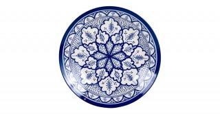 Fall Dinner Plate 28Cm Blue
