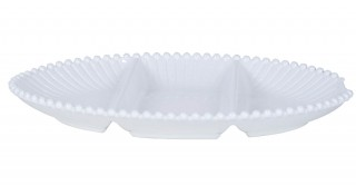 Iria Serving Dish 40Cm White
