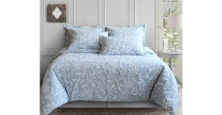 Brooklyn 240X260 Jacquard Duvet Cover Set