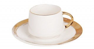Davy 6pcs Turkish Cup and Saucer