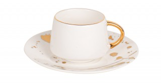 Dream 6pcs Turkish Cup and Saucer