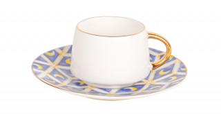 Eco 6pcs Turkish Cup and Saucer