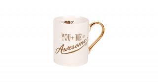 You+Me=Awesome Mug