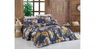 Clorinda 260X240 Printed Comforter Set