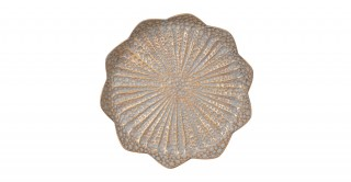 Kala Deco Plate Gold 40Cm