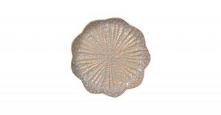 Kala Deco Plate Gold 30Cm