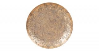 Safiya Deco Plate Gold 35Cm