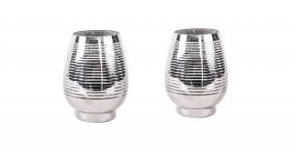 Uvan 6 PCs Lantern Silver