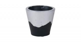 Polino Planters Grey 8Cm