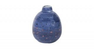 Nuba Vase Blue 10Cm