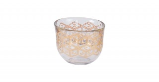 Moon 6pcs Glass Gahwa Cup