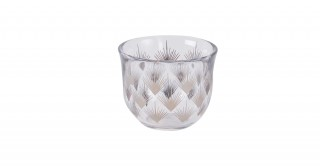 Fern 6pcs Glass Gahwa Cup