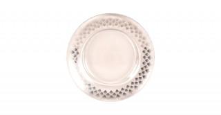 Fern Sweet Plate Silver 21Cm