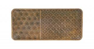 Prestige Decorative Tray Gold 34.5 cm