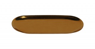 Lafuma Metal Tray Gold 30 cm