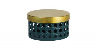 Marco Lidded Storage Green 15 cm