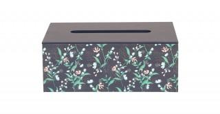 Miya Tissue Box Green 25 cm