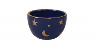 Ceola Decorative Bowl Blue 10 cm