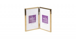 Kerry Photo Frame Gold 18 cm