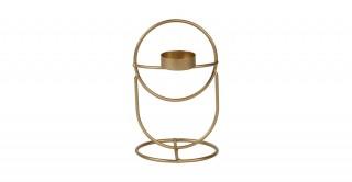 Cass Tealight Holder Gold 17 cm