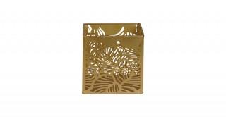 Claude Basket Storage Gold 12 cm