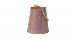 Zula Candle Holders Brown 18.5 cm