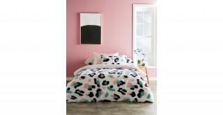 Leopard 260x240 Printed Comforter Set