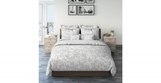 Finch Floral 240X260 Printed Duvet Cover Set