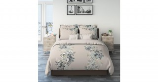 Paisley Floral 240X260 Printed Comforter Set