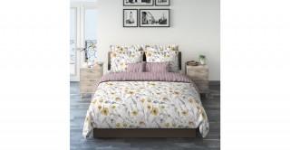 Stunning Flower 240X260 Printed Comforter Set