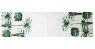 Plants 40X180 Printed Table Runner