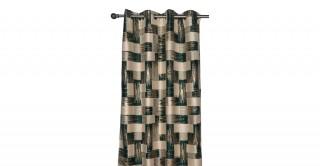 Geri Jacquard Eyelet Curtain, 140x300cm