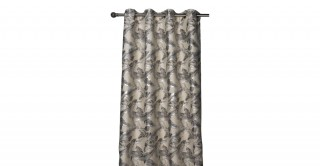 Lesly Jacquard Eyelet Curtain, 140x300cm